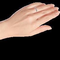 dda47873e PANDORA Twist Ring Clear CZ Sterling Silver - 80188130999 - Jared