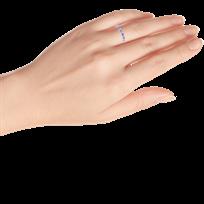 eb97fd671 Stackable Ring Purple Enamel Sterling Silver - 50575050599 - Kay