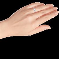f9818269f Dog Paw Ring 1/6 ct tw Diamonds 10K White Gold - 120345804 - Jared